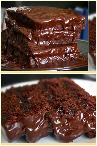 Σοκολατόπιτα πανεύκολη !!!