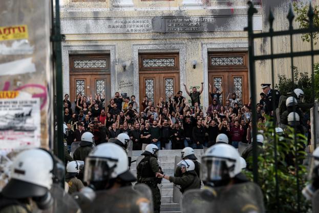 Φοιτητής μέσα από την ΑΣΟΕΕ: Η κυβέρνηση είναι διατεθειμένη να ζήσουμε ένα νέο Πολυτεχνείο