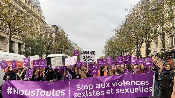 Γαλλία: Διαδηλώσεις αγανάκτησης για τις 116 δολοφονίες γυναικών από τις αρχές του έτους