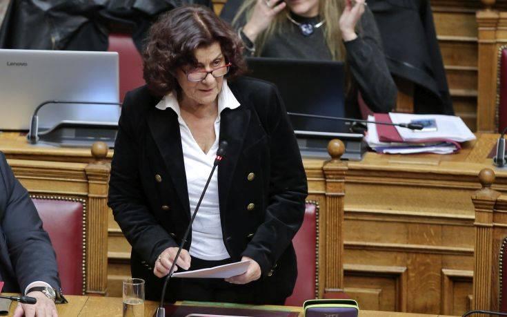Σκοτωμός στη Βουλή για την ΑΣΟΕΕ: «Η Θεανώ Φωτίου ταυτίστηκε με τους μπαχαλάκηδες»