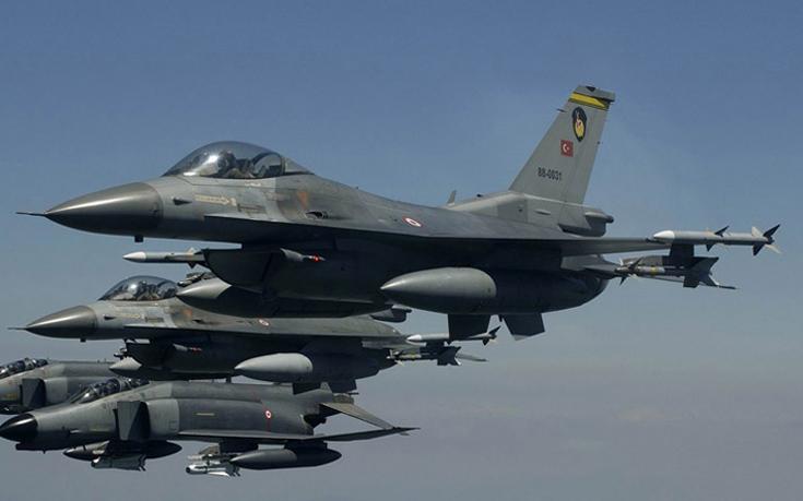 Νέα πρόκληση με υπερπτήση τουρκικών F-16 πάνω από το Καστελόριζο