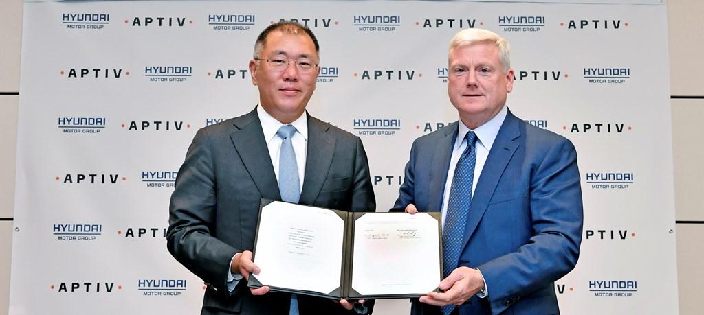 Κοινοπραξία Hyundai και Aptiv για την αυτόνομη οδήγηση