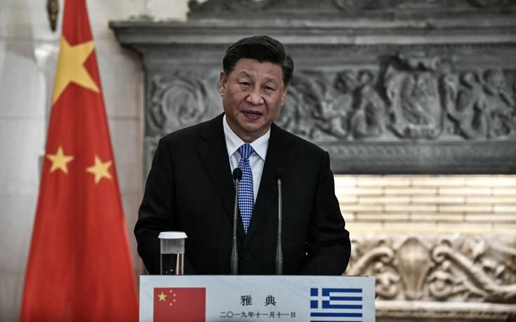 Κοινές δηλώσεις Μητσοτάκη – Σι Τζινπίνγκ: Οι σχέσεις μας είναι πιο θερμές από ποτέ