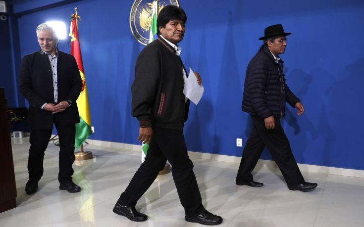Υψηλοί οι τόνοι στη Βολιβία – Ο Μοράλες καλεί τα κόμματα σε διάλογο