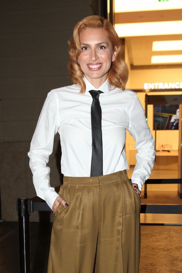 Η Μαρία Ηλιάκη έχει την απόλυτη εκδοχή του androgynous outfit