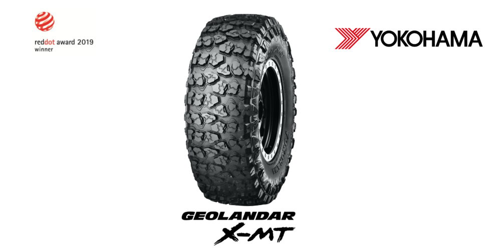 Tο βραβείο Red Dot για το 2019 στην κατηγορία Product Design απέσπασε το GEOLANDAR X-MT™ της Yokohama