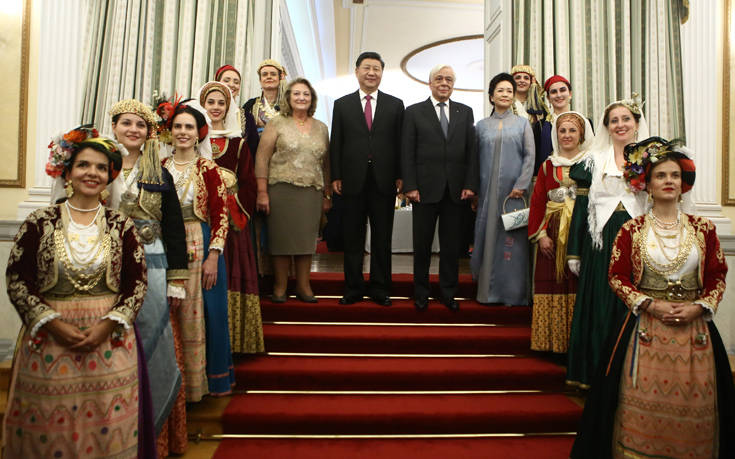 Παυλόπουλος: Θερμό κλίμα στο δείπνο για τον Κινέζο πρόεδρο με… μηνύματα προς την Τουρκία