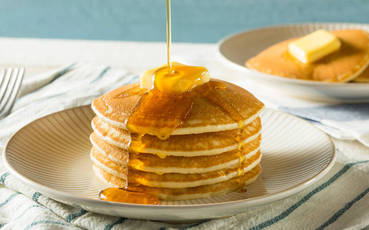 Σπιτικές τηγανίτες για πρωινό