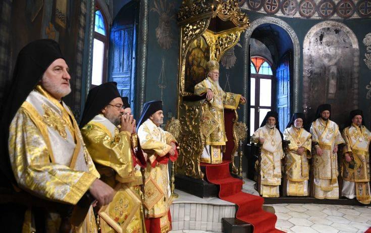 Οικουμενικός Πατριάρχης: «Μένομεν και αγωνιζόμεθα, διότι αυτό είναι η αμετάκλητος απόφασίς μας»