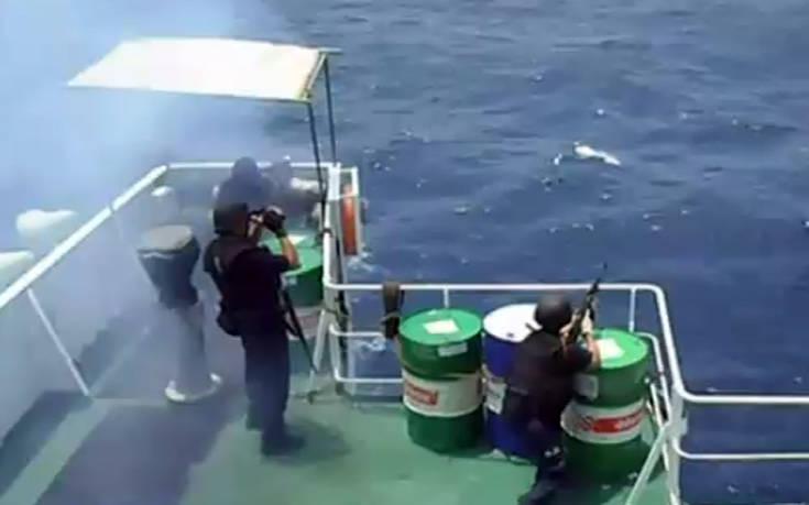 Βίντεο – ντοκουμέντο από τη δράση των πειρατών στην περιοχή που «άρπαξαν» τον Έλληνα ναυτικό