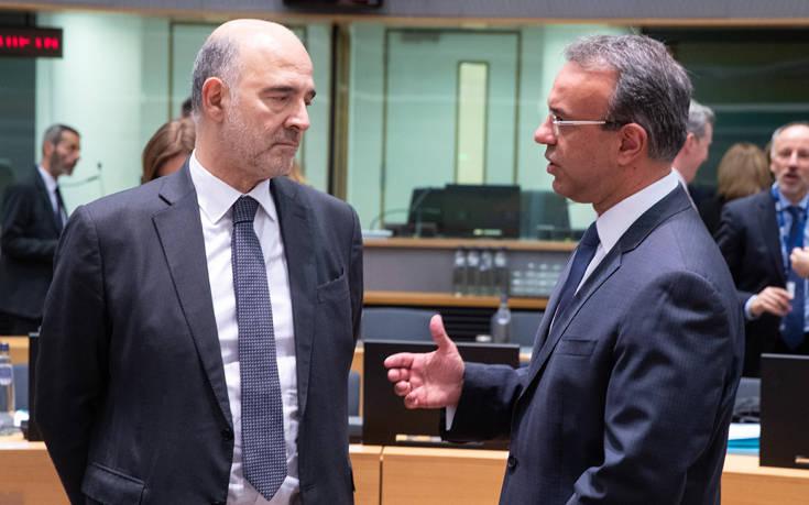 Eurogroup: Αισιοδοξία από τον Χρήστο Σταϊκούρα για την 4η αξιολόγηση