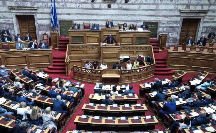Ψηφίστηκε το νομοσχέδιο για την κύρωση ΠΝΠ των υπουργείων