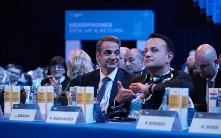 Μητσοτάκης: Διαδοχικές επαφές με τους Ευρωπαίους ηγέτες