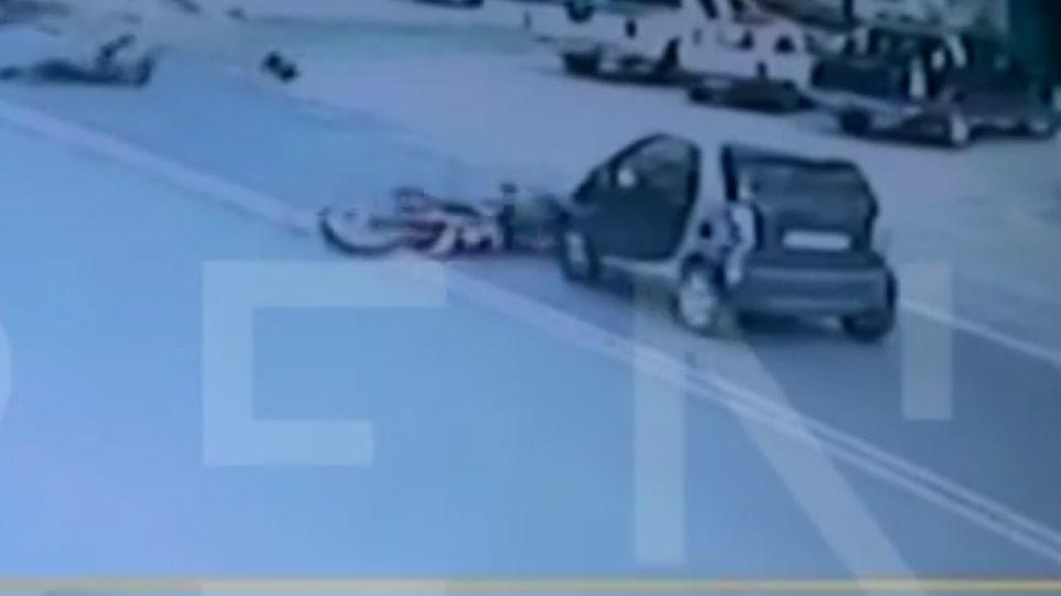 ΒΙΝΤΕΟ – Καρέ-καρέ η φονική σύγκρουση με ένα νεκρό και δύο τραυματίες στη Λαυρίου
