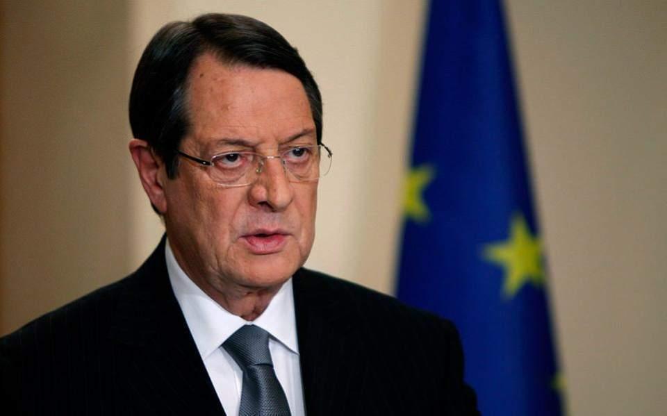Αναστασιάδης: Κοινή θέση της Ε.Ε. ότι η Τουρκία πρέπει να σέβεται το διεθνές δίκαιο