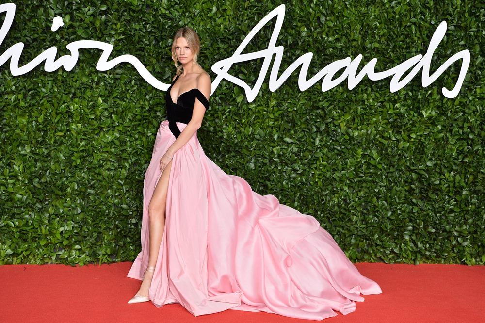 Ποια top models φόρεσαν δημιουργίες Celia Kritharioti στα χθεσινά British Fashion Awards;