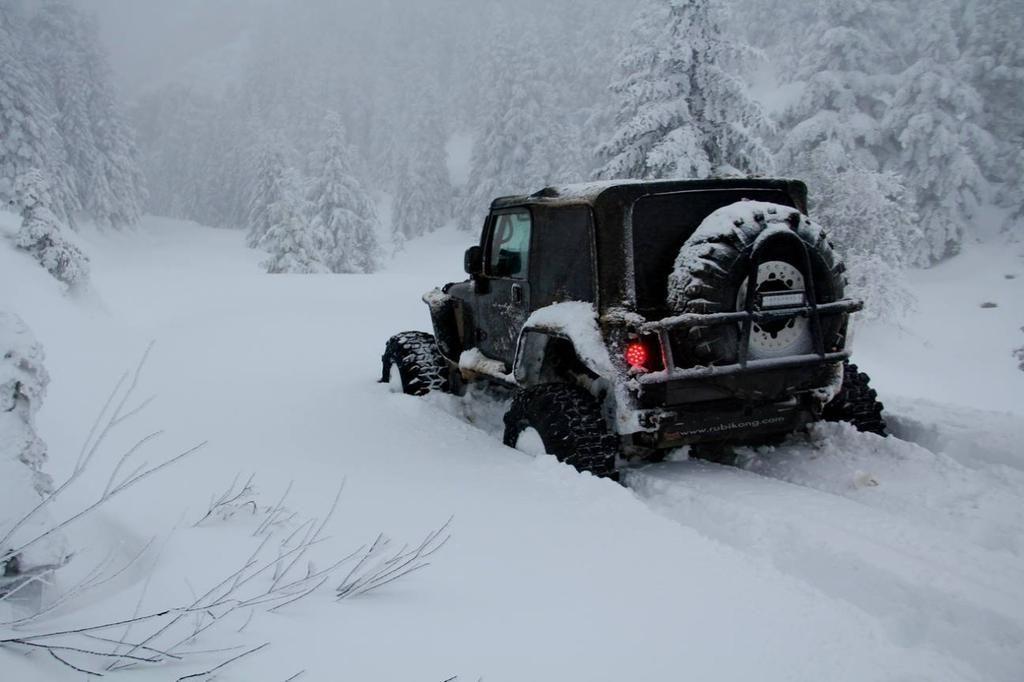 Τι πρέπει να ξέρετε πριν ξεκινήσετε τη βόλτα σας στους χιονισμένους δρόμους