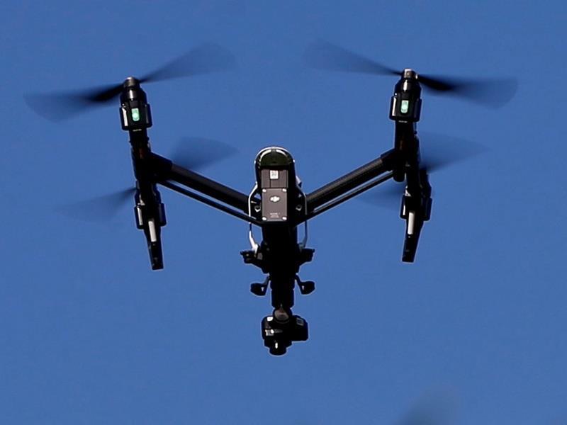 Drone της ΕΛ.ΑΣ. έπεσε σε ταράτσα στα Εξάρχεια