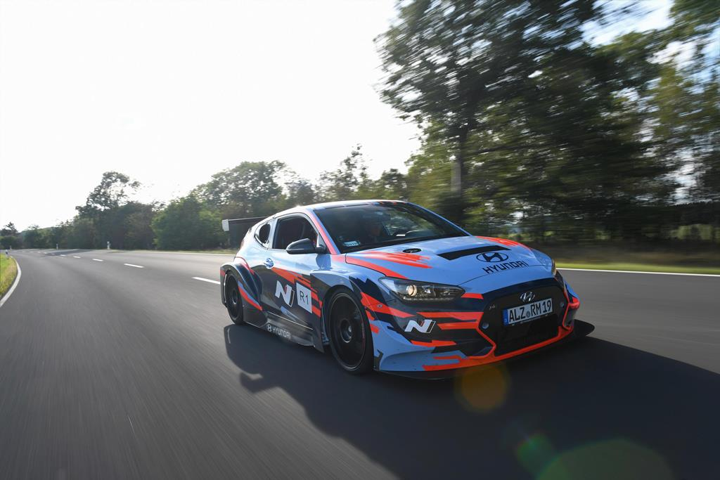 Η Hyundai N αποκάλυψε το ολοκαίνουργιο πρωτότυπο RM19 Racing Midship Sports Car