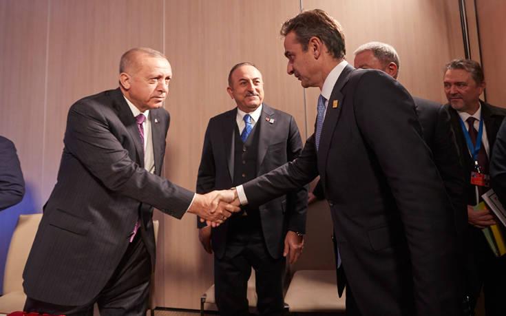 Σιγή ιχθύος από την πλευρά Ερντογάν για τη συνάντηση με Μητσοτάκη