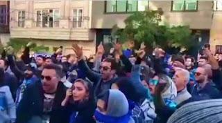 Διαδηλώσεις στο Ιράν για τον Στραματσόνι