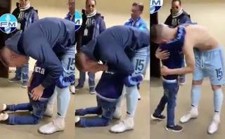 Πιτσιρικάς έπεσε στα πόδια ποδοσφαιριστή παρακαλώντας τον να μη φύγει
