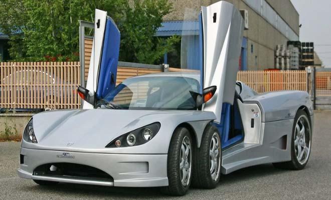 Το μοναδικό supercar με τις 6 ρόδες που εντυπωσίασε τους επενδυτές και κοστίζει μια περιουσία