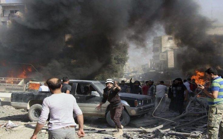 Συρία: 19 άμαχοι νεκροί, εκ των οποίων 8 παιδιά, σε αεροπορικές επιδρομές