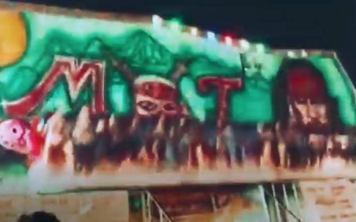 Βίντεο σοκ από λούνα παρκ  στην Ταϊλάνδη: Έξι άτομα εκτοξεύονται από παιχνίδι