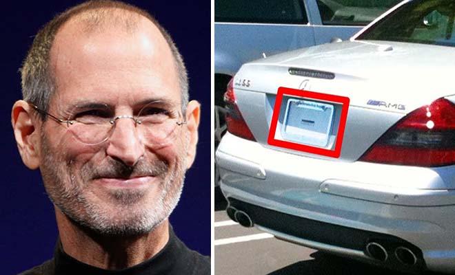 Για έναν απίθανο λόγο ο Στιβ Τζομπς οδηγούσε πάντα χωρίς… πινακίδες! [Βίντεο]