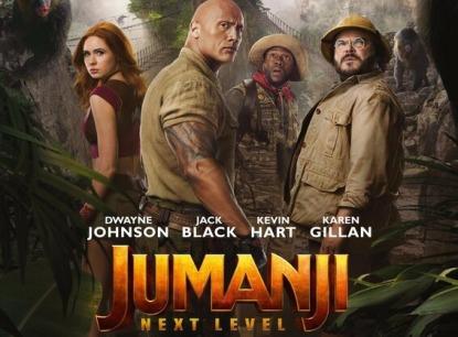 Jumanji: The Next Level – Η Επόμενη Πίστα (υποτιτλ/μεταγλ), Πρεμιέρα: Ιανουάριος 2020 (trailers)