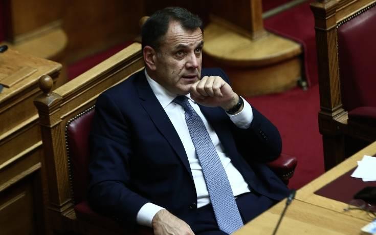 Παναγιωτόπουλος για τα σχόλια του ΣΥΡΙΖΑ: Δεν θα αντιμετωπίσει ο στρατός το μεταναστευτικό