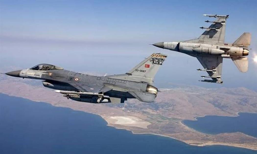 Νέες υπερπτήσεις τουρκικών F-16 πάνω από Οινούσσες και Παναγιά
