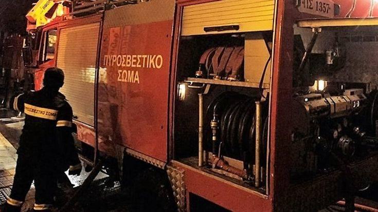 Νεκρός άνδρας από φωτιά που ξέσπασε σε τροχόσπιτο στο Κορωπί