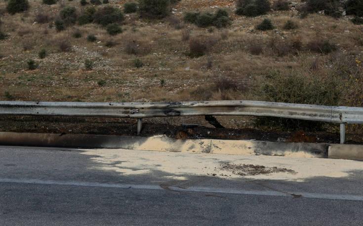 Τροχαίο στην Εγνατία: Εκτροπή νταλίκας και σύγκρουση επτά οχημάτων