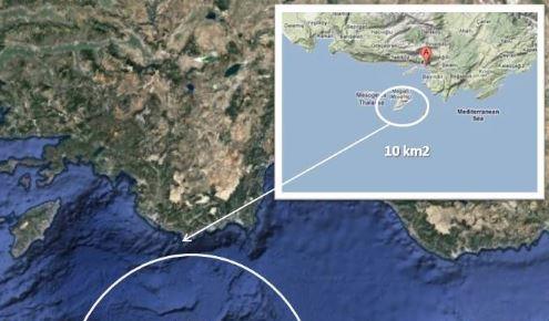 Νέα τουρκική πρόκληση: Χάρτης βάζει στο στόχαστρο το Καστελόριζο (εικόνα)