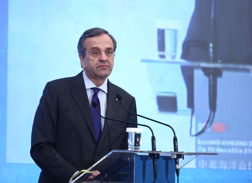 Δεν θα ψηφίσει για Πρόεδρο της Δημοκρατίας ο Αντώνης Σαμαράς