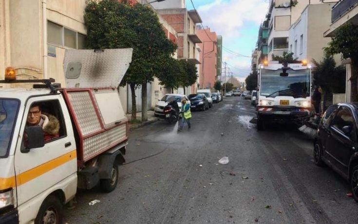 Μεγάλη επιχείρηση καθαριότητας από τον Δήμο Αθηναίων σε Βοτανικό, Μεταξουργείο, Πετράλωνα