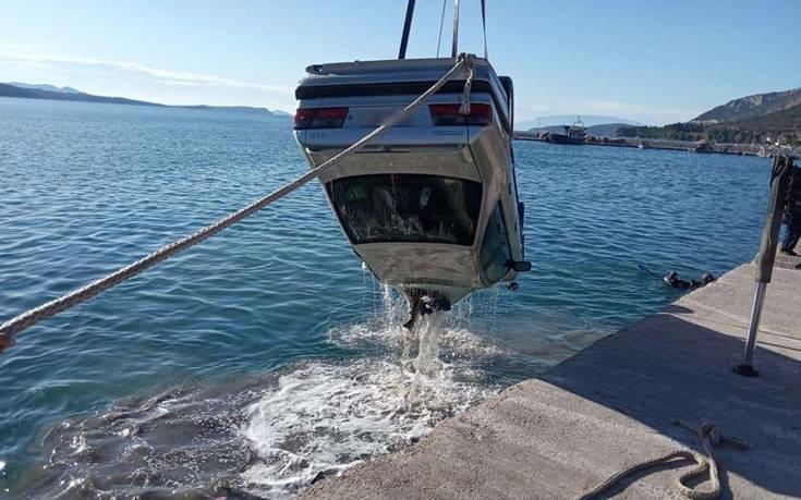Αστακός: Αυτό είναι το αυτοκίνητο που έπεσε στη θάλασσα ανήμερα της Πρωτοχρονιάς