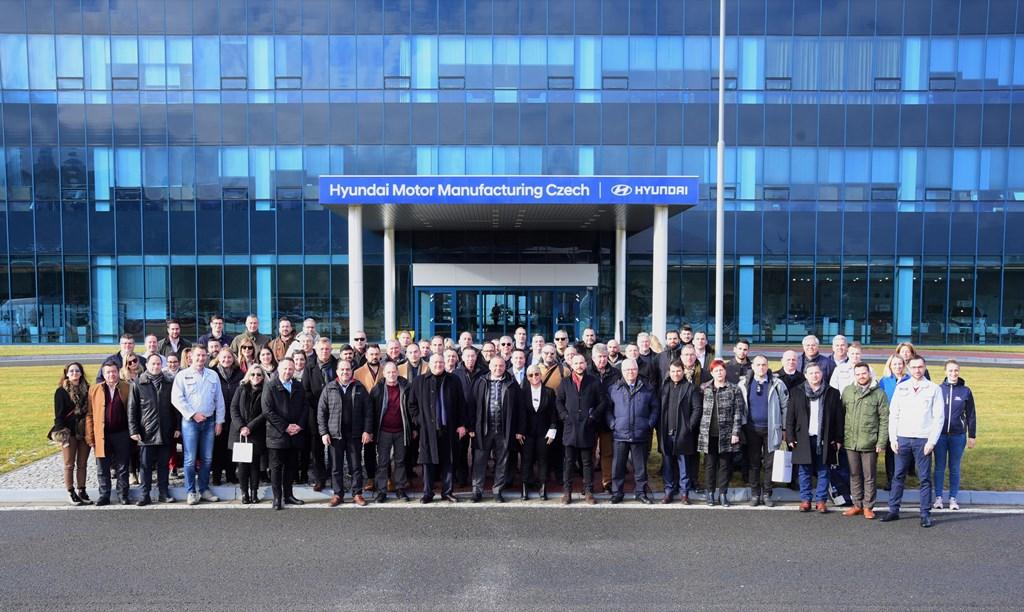 Το ετήσιο Συνέδριο Δικτύου Hyundai 2020 στο εργοστάσιο της Hyundai Motor Company
