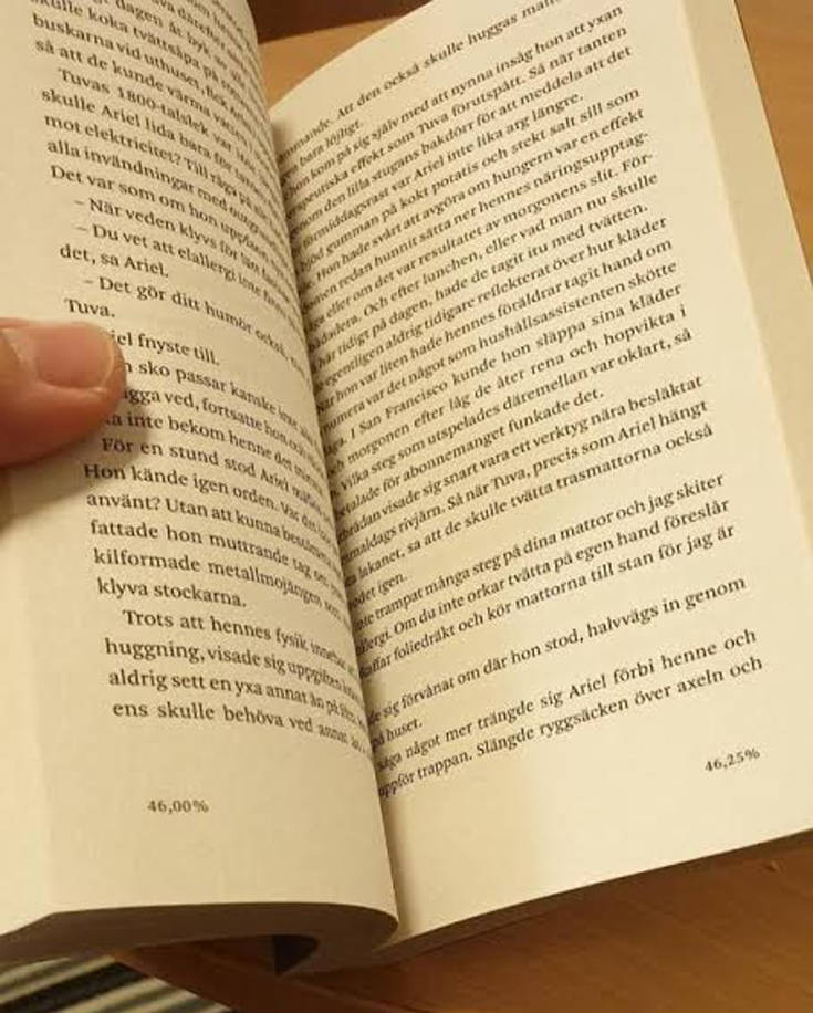 Το βιβλίο που σου δείχνει… το ποσοστό που διάβασες
