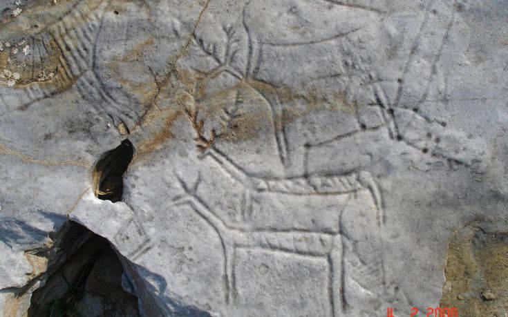 Μήνυση για τις κατεστραμμένες βραχογραφίες στην Καβάλα