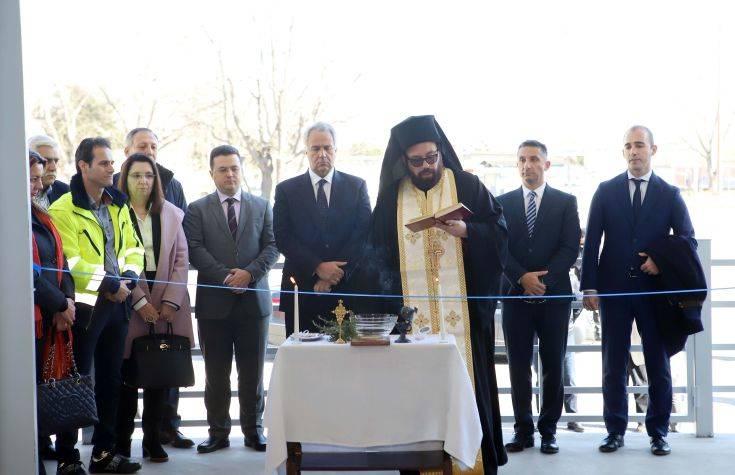 Ο Βορίδης εγκαινίασε τις εγκαταστάσεις του υπουργείο Αγροτικής Ανάπτυξης και Τροφίμων στο λιμάνι Θεσσαλονίκης