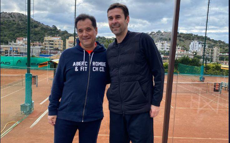Φιλικό «ντέρμπι» Άδωνι και Τσιάρτα στο τένις