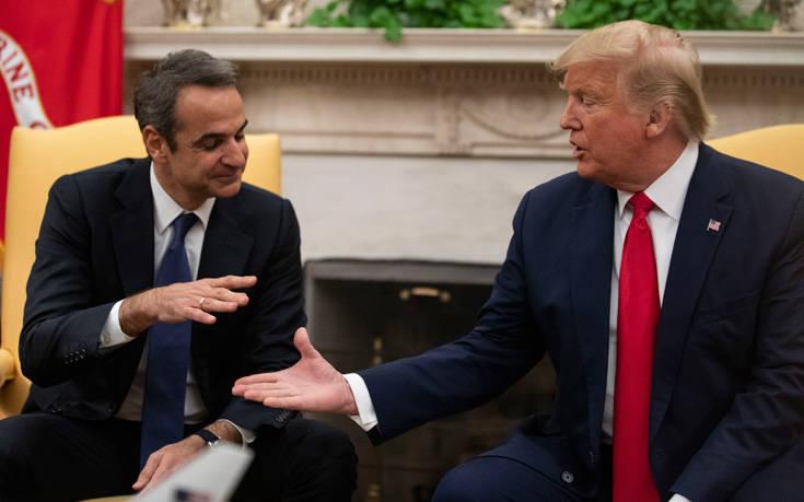 Συνάντηση Μητσοτάκη- Τραμπ: Σκληρή κυβερνητική απάντηση στην ανακοίνωση του ΣΥΡΙΖΑ