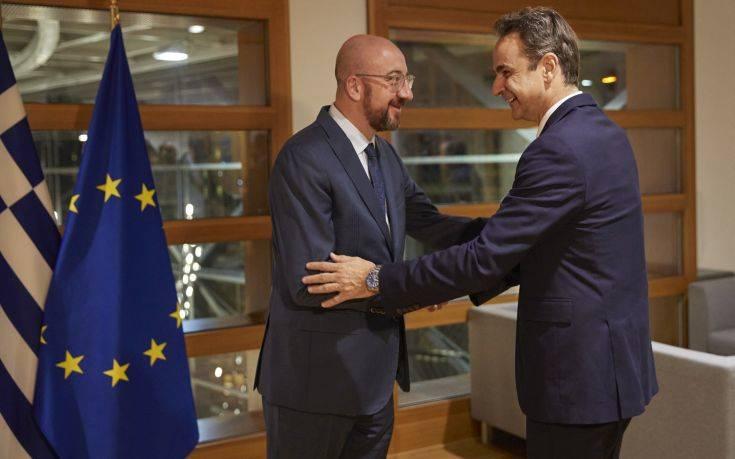 Δείπνο εργασίας του πρωθυπουργού με τον πρόεδρο του Ευρωπαϊκού Συμβουλίου