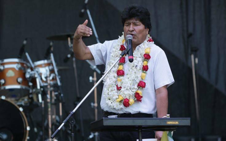 Ο Μοράλες σέβεται την υποψηφιότητα Άνιες στις προεδρικές εκλογές της Βολιβίας