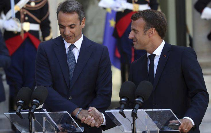 Τι αναμένει ο Κυριάκος Μητσοτάκης από τη σημερινή συνάντηση με τον Γάλλο πρόεδρο Μακρόν