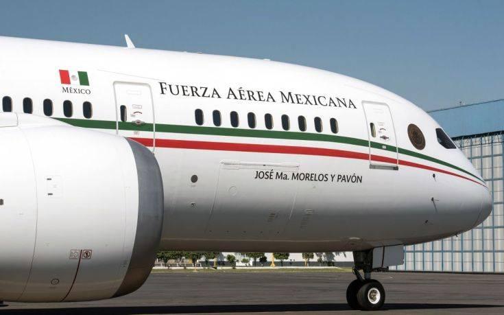 Η κυβέρνηση του Μεξικού δεν έχει καταφέρει ακόμα να πουλήσει το «καμάρι του έθνους»