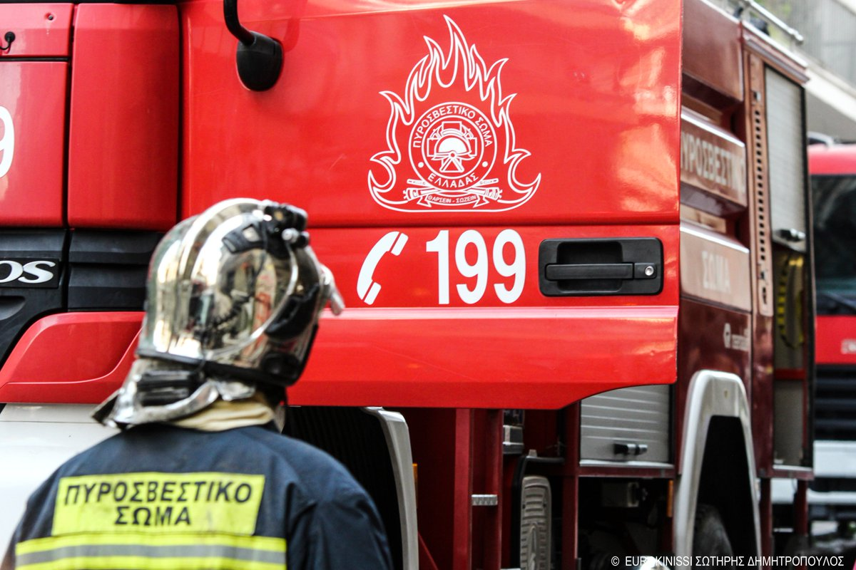 Φωτιά σε διαμέρισμα στη Θεσσαλονίκη – Απομακρύνθηκε ηλικιωμένος